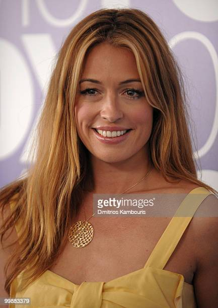 Personality Cat Deeley attends the 2010 FOX Upfront after party at Wollman Rink Central Park on May 17 2010 in New York City
