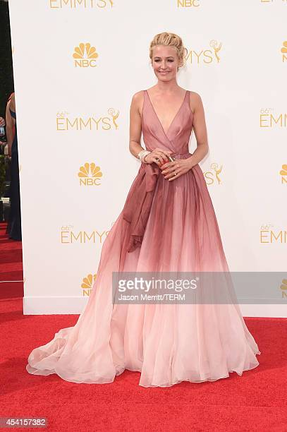 TV personality Cat Deeley attends the 66th Annual Primetime Emmy Awards held at Nokia Theatre LA Live on August 25 2014 in Los Angeles California
