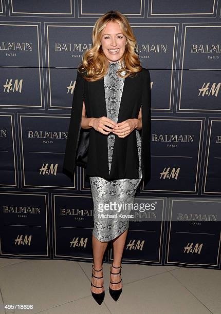 TV personality Cat Deeley attends the Balmain x HM Los Angeles VIP PreLaunch on November 4 2015 in West Hollywood California