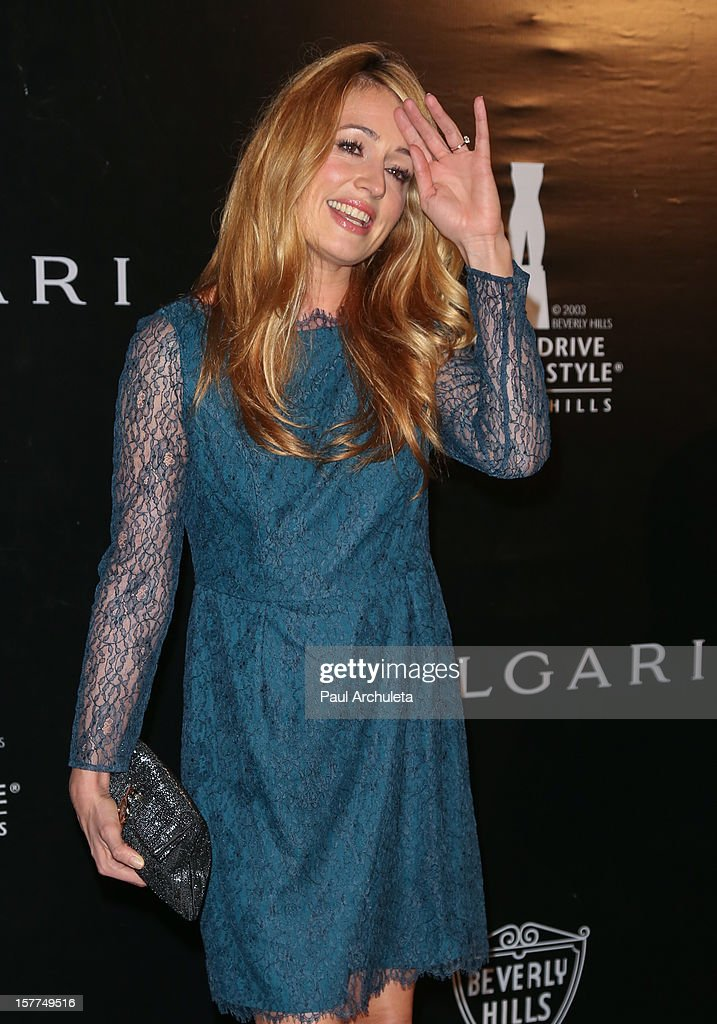 TV Personality Cat Deeley attends the Rodeo Drive Walk of Style honoring BVLGARI on December 5, 2012 in Beverly Hills, California.