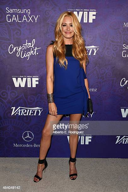 TV personality Cat Deeley attends Variety and Women in Film Emmy Nominee Celebration powered by Samsung Galaxy on August 23 2014 in West Hollywood...