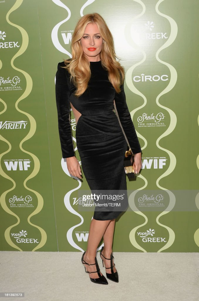 TV Personality Cat Deeley attends Variety & Women In Film Pre-Emmy Event presented by Yoplait Greek at Scarpetta on September 20, 2013 in Beverly Hills, California.