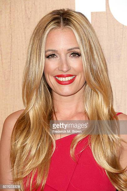 TV personality Cat Deeley poses in the press room during the 2016 American Country Countdown Awards at The Forum on May 1 2016 in Inglewood California