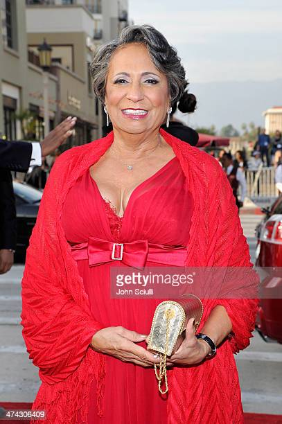 TV personality Cathy Hughes attends the 45th NAACP Image Awards presented by TV One at Pasadena Civic Auditorium on February 22 2014 in Pasadena...
