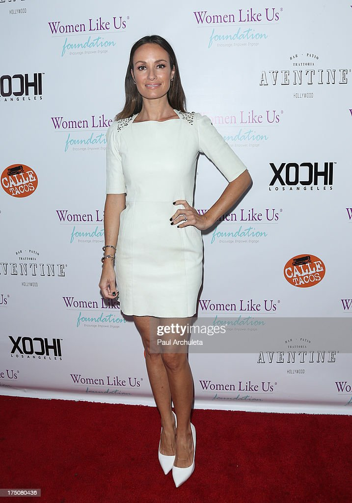 TV Personality Catt Sadler attends the Women Like Us Foundation's One Girl At A Time fundraiser at The Aventine Hollywood on July 30, 2013 in Hollywood, California.