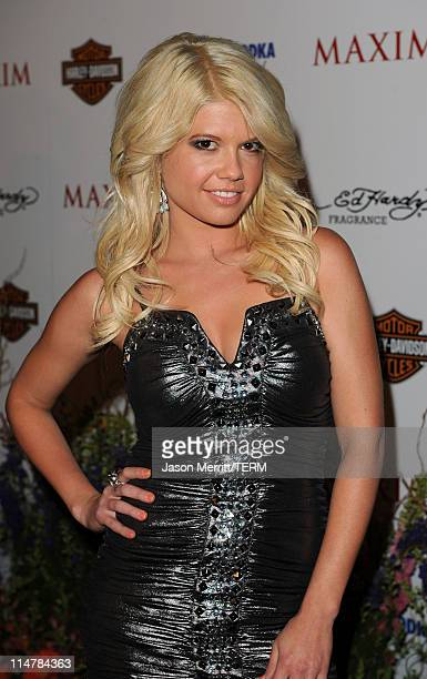 TV Personality Chanel arrives at the 11th annual Maxim Hot 100 Party with HarleyDavidson ABSOLUT VODKA Ed Hardy Fragrances and ROGAINE held at...