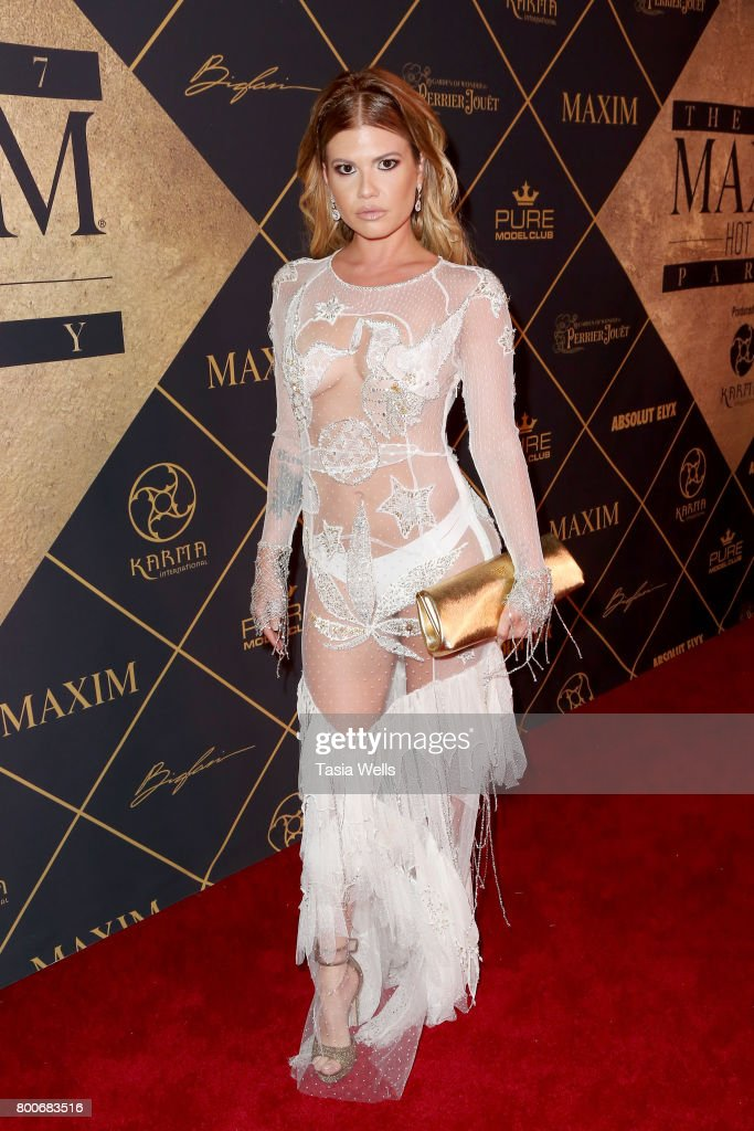 TV personality Chanel West Coast attends the 2017 MAXIM Hot 100 Party at Hollywood Palladium on June 24, 2017 in Los Angeles, California.