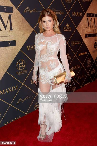 TV personality Chanel West Coast attends the 2017 MAXIM Hot 100 Party at Hollywood Palladium on June 24 2017 in Los Angeles California