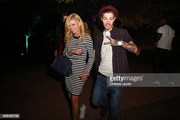 TV personality Chanel West Coast attends Trey Songz' 30th birthday carnival extravaganza on November 22 2014 in Agoura Hills California