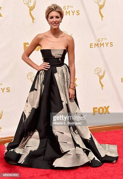 TV personality Charissa Thompson attends the 67th Emmy Awards at Microsoft Theater on September 20 2015 in Los Angeles California 25720_001