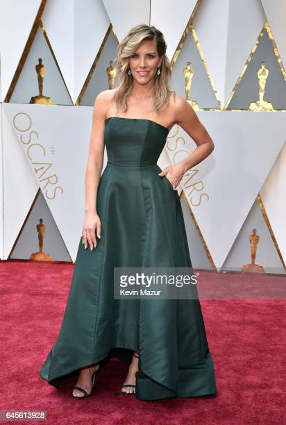 TV personality Charissa Thompson attends the 89th Annual Academy Awards at Hollywood Highland Center on February 26 2017 in Hollywood California