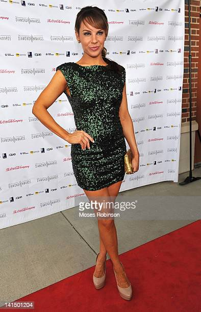 TV personality Charity Shea attends the Not Alone Foundation Second Biennial Diamond Awards at Morehouse College Ray Charles Performing Arts Center...