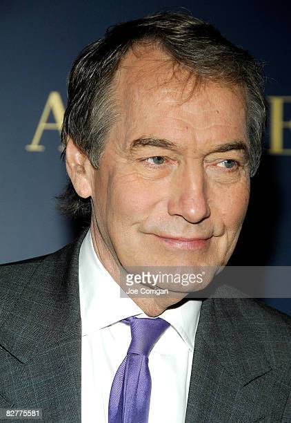 Personality Charlie Rose attends a private cocktail party and shopping event at the Ralph Lauren Mansion on September 10, 2008 in New York City.
