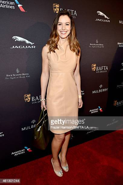 TV personality Charlie Webster attends the BAFTA Los Angeles Tea Party at The Four Seasons Hotel Los Angeles At Beverly Hills on January 10 2015 in...