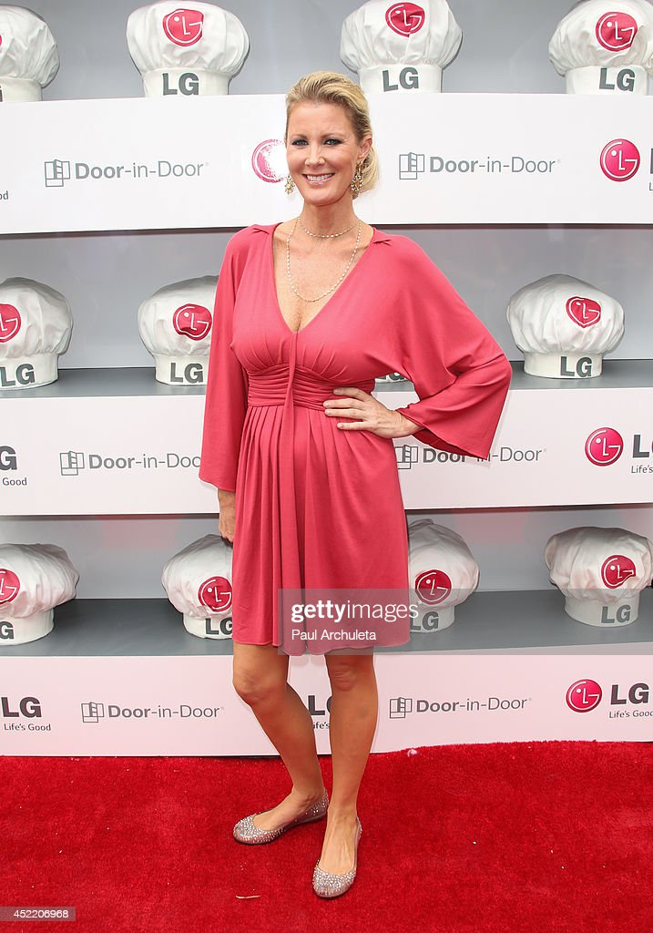 TV Personality / Chef Sandra Lee attends the Junior Chef Academy event at The Washbow on July 15, 2014 in Culver City, California.