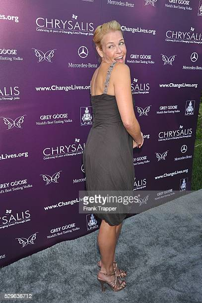 Personality Chelsea Handler arrives at the 8th Annual Chrysalis Butterfly Ball held at a private residence in Brentwood.