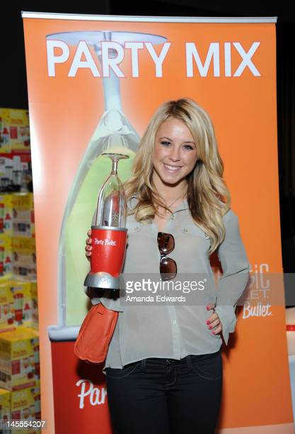 TV personality Chelsie Hightower attends Kari Feinstein's MTV Movie Awards Style Lounge at the W Hollywood on June 1 2012 in Hollywood California