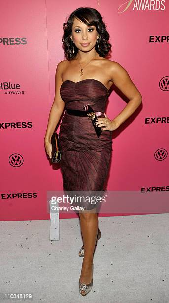 TV Personality Cheryl Burke arrives at Hollywood Life's 6th Annual Hollywood Style Awards sponsored by Express held at the Armand Hammer Museum on...
