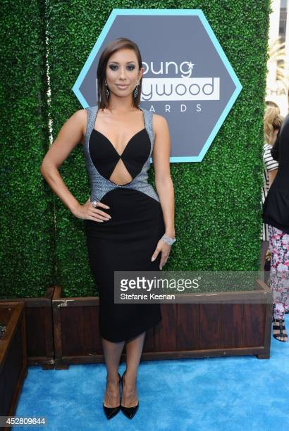 TV personality Cheryl Burke attends the 2014 Young Hollywood Awards brought to you by Samsung Galaxy at The Wiltern on July 27 2014 in Los Angeles...