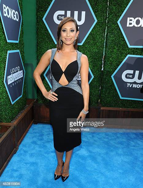 Personality Cheryl Burke attends the 2014 Young Hollywood Awards brought to you by Samsung Galaxy at The Wiltern on July 27 2014 in Los Angeles...