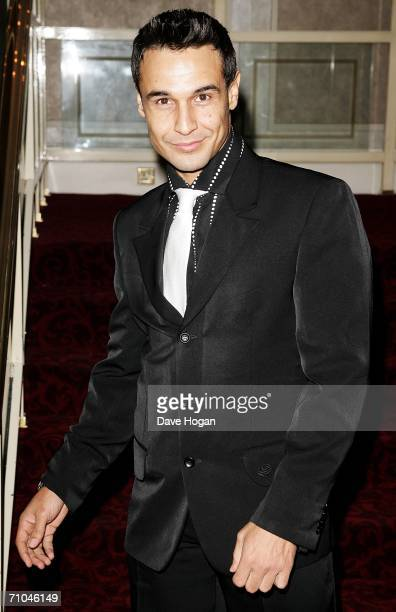 TV personality Chico arrives at the 51st Ivor Novello Awards at the Grosvenor House Hotel on May 25 2006 in London England