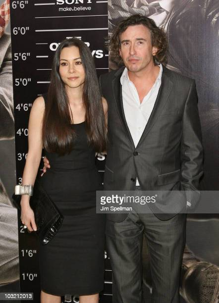 TV personality China Chow and actor Steve Coogan attend the premiere of The Other Guys at the Ziegfeld Theatre on August 2 2010 in New York City