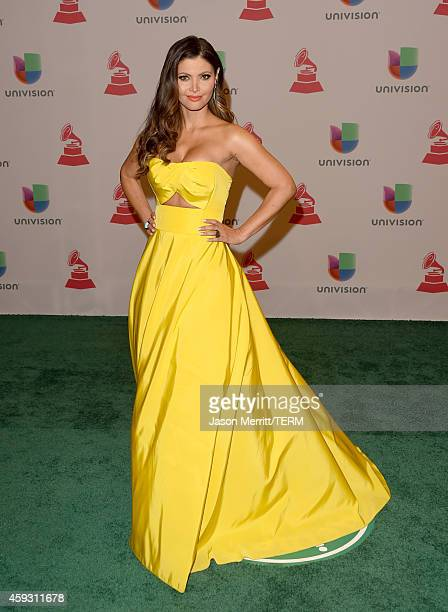 TV personality Chiquinquira Delgado attends the 15th Annual Latin GRAMMY Awards at the MGM Grand Garden Arena on November 20 2014 in Las Vegas Nevada
