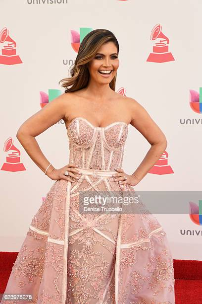 TV personality Chiquinquira Delgado attends The 17th Annual Latin Grammy Awards at TMobile Arena on November 17 2016 in Las Vegas Nevada