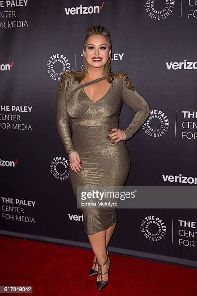 Personality Chiquis Rivera arrives at The Paley Center for Media's Hollywood Tribute to Hispanic Achievements in Television event at the Beverly...