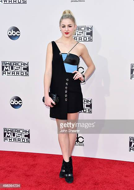 Personality Chloe Lukasiak attends the 2015 American Music Awards at Microsoft Theater on November 22, 2015 in Los Angeles, California.