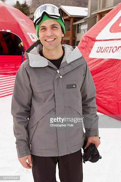 TV personality Chris Grimaldi at the Burton Lounge at Park City Mountain Resort on January 20 2012 in Park City Utah