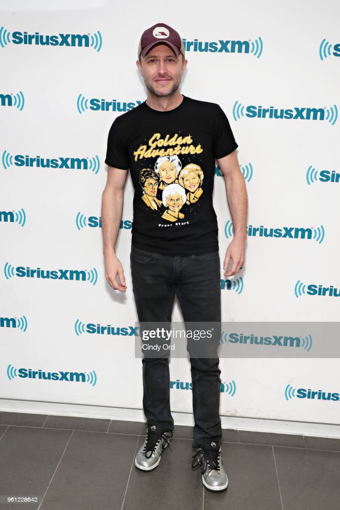 TV personality Chris Hardwick visits the SiriusXM Studios on May 21, 2018 in New York City.