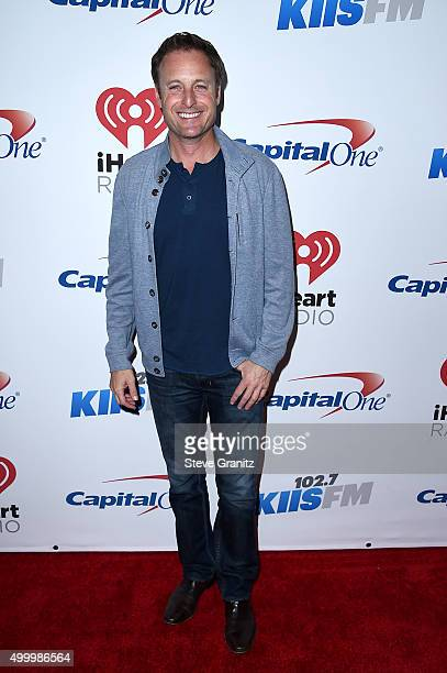 TV personality Chris Harrison attends 1027 KIIS FM's Jingle Ball 2015 Presented by Capital One at STAPLES CENTER on December 4 2015 in Los Angeles...