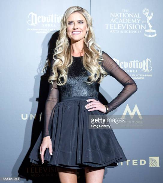 Personality Christina El Moussa attends the 44th Annual Daytime Emmy Awards at Pasadena Civic Auditorium on April 30 2017 in Pasadena California
