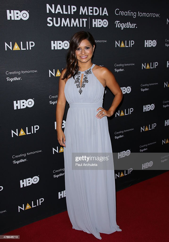 TV Personality Christina Guerrero attends the NALIP 16th annual Latino Media Awards at The W Hollywood on June 27, 2015 in Hollywood, California.