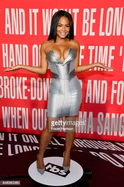 TV personality Christina Milian attends the 2017 iHeartRadio Music Awards which broadcast live on Turner's TBS TNT and truTV at The Forum on March 5...