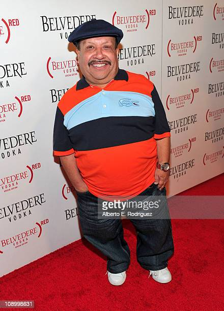Personality Chuy Bravo arrives at the RED launches with Usher on February 10, 2011 in Hollywood, California.