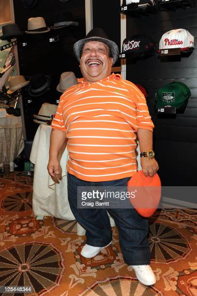 V personality Chuy Bravo attends the HBO Luxury Lounge in honor of the 63rd Primetime Emmy Awards held at The Four Seasons Hotel on September 17 2011...