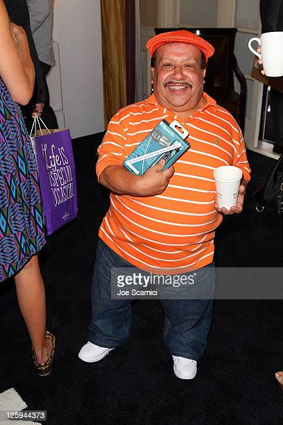 TV personality Chuy Bravo attends the HBO Luxury Lounge in honor of the 63rd Primetime Emmy Awards held at The Four Seasons Hotel on September 17...