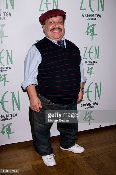 TV personality Chuy Bravo attends the Zen Green Tea Liqueur Launch at Yamashiro Restaurant on December 10 2008 in Hollywood California