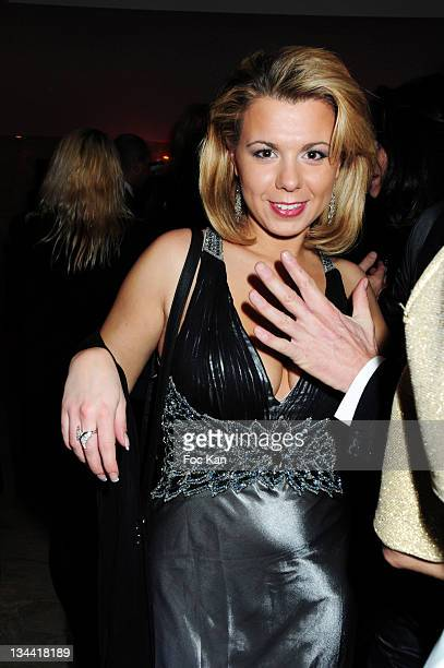 TV Personality Cindy Lopes from Secret Story attends ÒThe BestÓ Awards 2009 at the Salons Hoche on December 14 2009 in Paris France