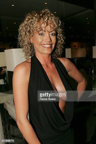 TV personality Claudia Johns from Body WorK attends the announcement of the 2004 Australian Penthouse Pet Of The Year for the 25th anniversary of the...