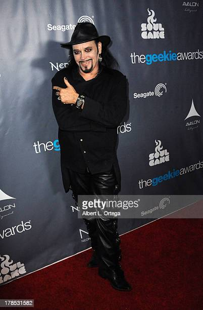 TV personality Cleve Hall attends The 1st Annual Geekie Awards held at Avalon on August 18 2013 in Hollywood California