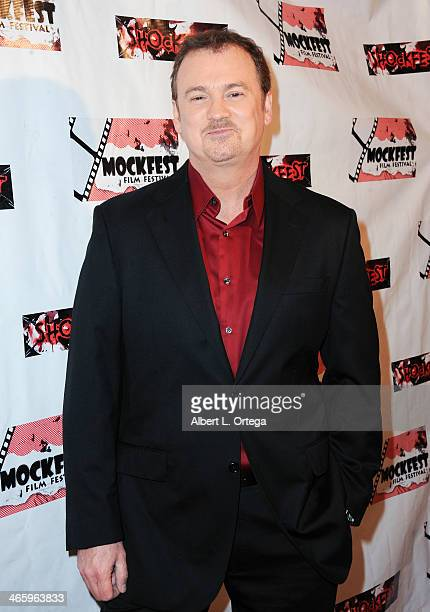 TV personality Clive Pearse attends the ShockFest Film Festival Awards held at Raleigh Studios on January 11 2014 in Los Angeles California