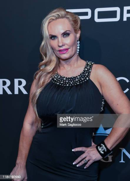 Personality Coco Austin attends the Angel Ball 2019 at Cipriani Wall Street on October 28 2019 in New York City
