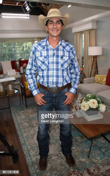 TV personality Cody Harris visits Hallmark's 'Home Family' at Universal Studios Hollywood on April 25 2018 in Universal City California