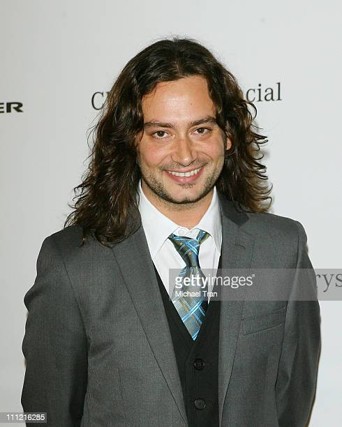 TV personality Constantine Maroulis arrives at The Lili Claire Foundation 10th Annual Dinner and Auction at the Hyatt Regency Plaza Hotel on October...