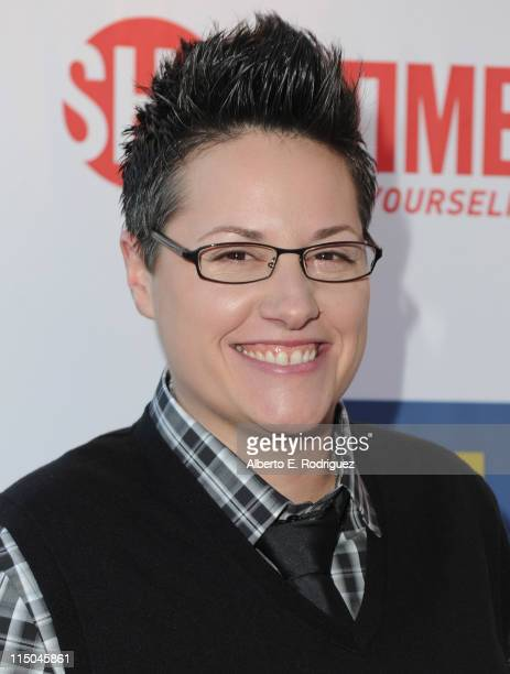 TV personality Cori Boccumini arrives to the premiere of Showtime's 'The Real L Word' on June 1 2011 in West Hollywood California