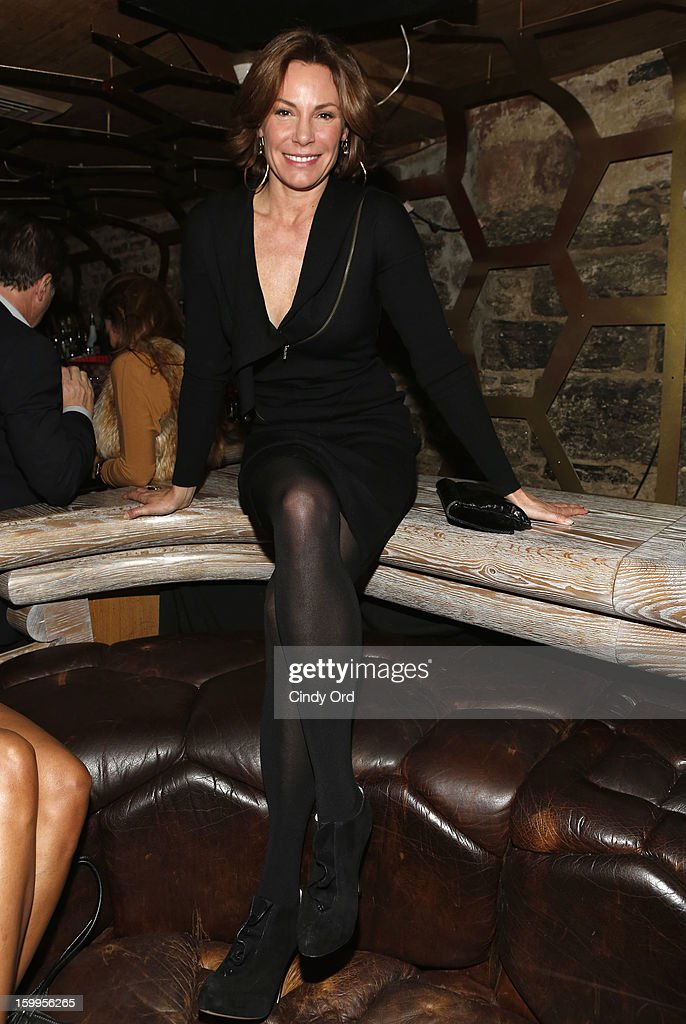 TV personality Countess LuAnn de Lesseps attends DuJour Magazine Gala with Coco Rocha and Nigel Barker presented by TW Steel at Scott Sartiano and Richie Akiva's The Darby on January 23, 2013 in New York City.