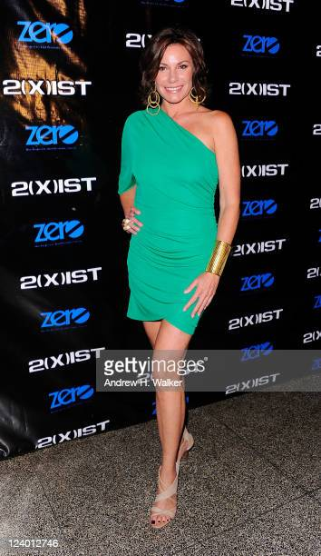 TV personality Countess LuAnn de Lesseps attends the 2ist Spring 2012 presentation during Mercedes Benz Fashion Week at Hiro Ballroom at The Maritime...
